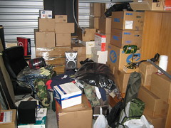 My life in a 10x10 storage unit