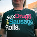 sex drugs and sausage rolls