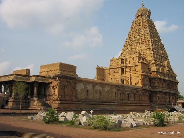 Kovil Gopuram Periya Kovil Gopuram