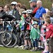 ClanStuntShow posted a photo:	Young and old enjoying the show. Lochore, April 2010. Photgraph copyright Dunfermline Press