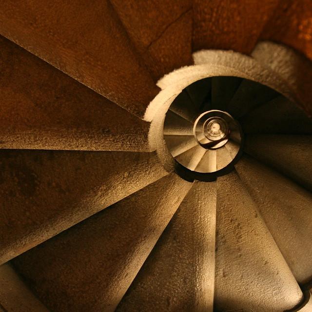 Stairway to Gaudi's Heaven