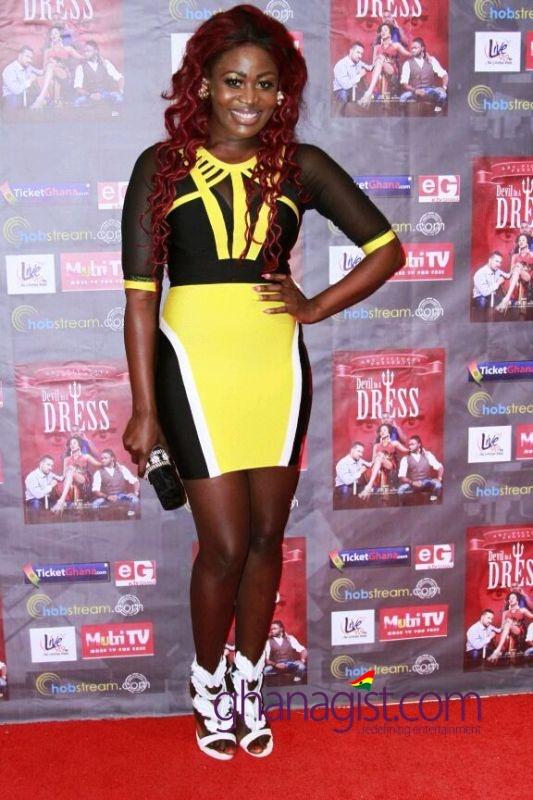 Nana Akua Addo at Devil In A Dress premiere