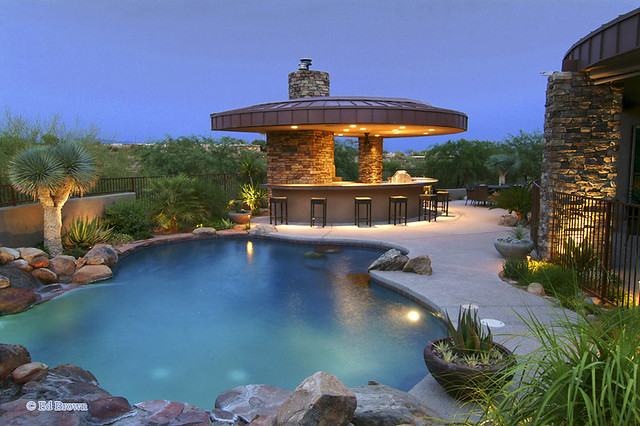 Backyard Designs With Pool And Outdoor Kitchen : 32773571455bbd5c33c2zjpg?zz=1
