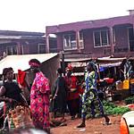 Onitsha Anambra State South Eastern Nigeria Africa's Biggest Market Oct 27 2002 971 Nigeria Street Vendors near Neni