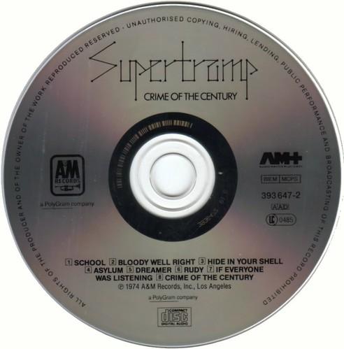 Supertramp - Crime Of The Century - 1974