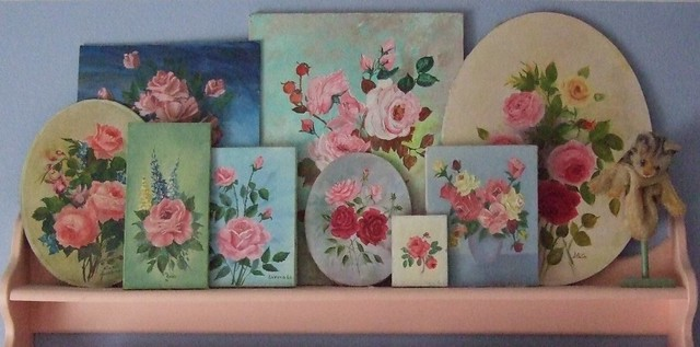 Rose Paintings