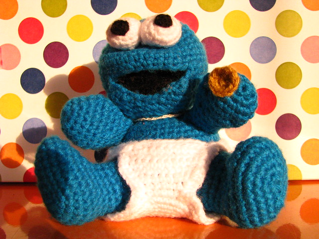 Amigurumi Cookie Monster Pattern : amigurumi cookie monster Flickr - Photo Sharing!