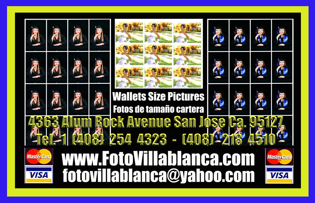 wallet size picture foto tamano cartera