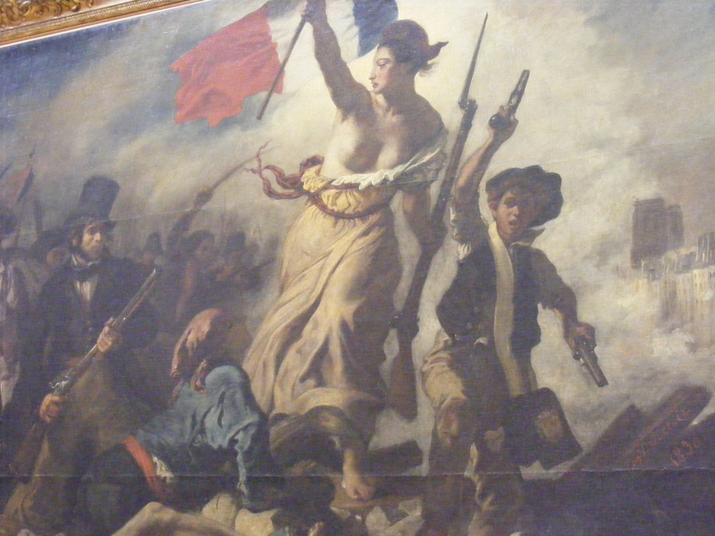 Day 12 Eugene Delacroix Liberty Leading The People Oil Flickr
