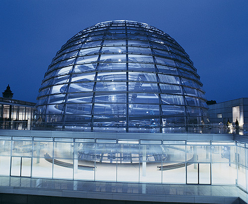berlin germany glass dome of the reichstag building at ni by dk travel flickr photo. Black Bedroom Furniture Sets. Home Design Ideas
