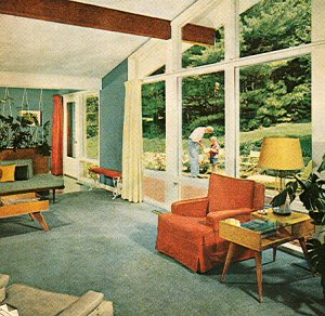 1950 39 s atomic ranch house more 1950 s atomic mid century for 1950s beach house designs