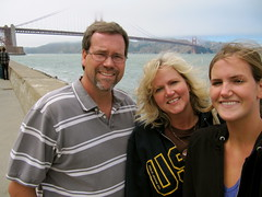 Golden Gate Bridge in background