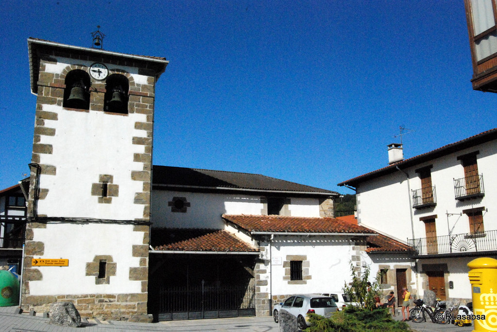 Iglesia de San Martín, Zubiri, Navarra, Camino de Santiago