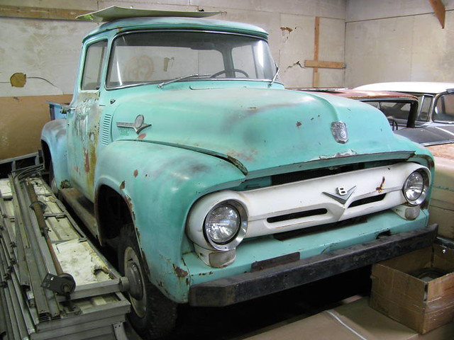 1956 Ford F-100 Napco 4x4 | Flickr - Photo Sharing!