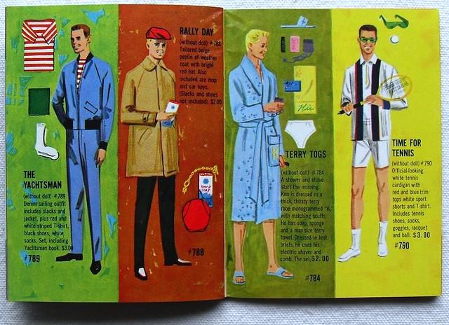 Barbie and Ken 1961 Mattel Vintage Fashion Illustration Catalogs 1960s (13)