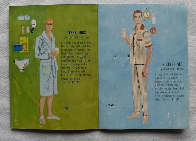 Barbie and Ken 1961 Mattel Vintage Fashion Illustration Catalogs 1960s (9)