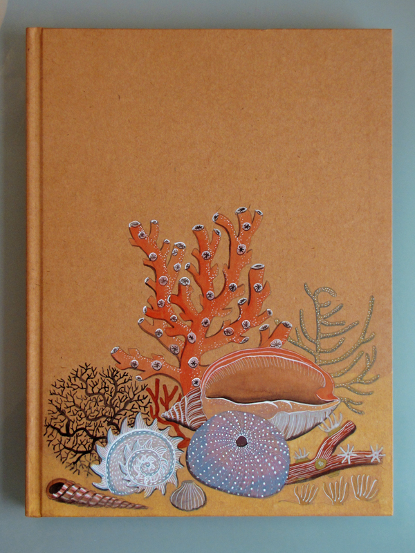 Book Cover Design Watercolor ~ Geninne s art sketchbook cover done
