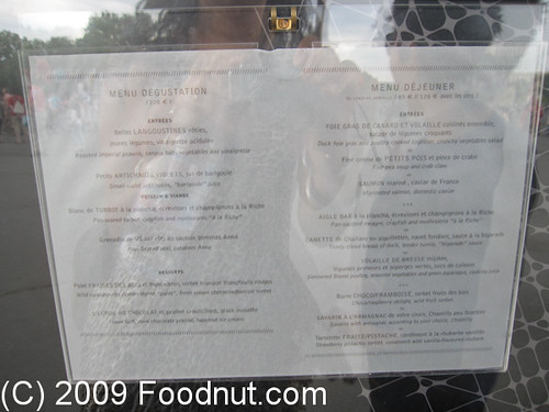 Le Jules Verne Paris France Menu Flickr Photo Sharing