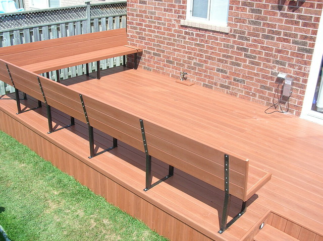 Composite Deck Bench Flickr Photo Sharing