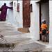 stairs - Tetouan by Maciej Dakowicz