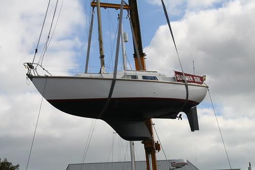Sabre 27 bilge keel vs Seal 28 lifting keel - performance