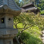 Garden Shrine at Huntington Gardens in Pasadena California