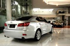 A Lexus Car On Back