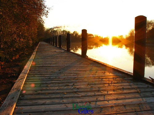 sunset sun ontario canada reflection nature thames canon river outdoors dock chatham flare powershots3 denisgiles