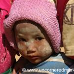 Shy Burmese Girl - Kalaw, Burma