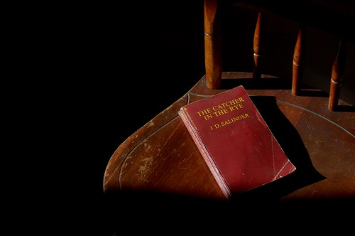 Old book, old chair by Gayle Nicholson on Flickr