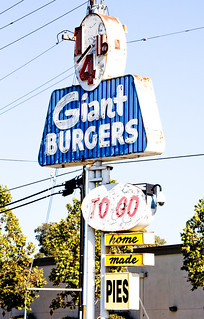 Quarter Pound Giant Burgers