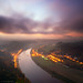 Elbe in the Morning Fog by Dietrich Bojko Photographie