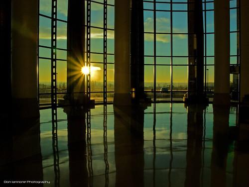 morning reflection oklahoma sunrise dawn morninglight flickr health medicine muskogee reflectedlight doniannone gpec nikond80camera cherokeenationhealthclinic indianhealthservices cherokeeclinic