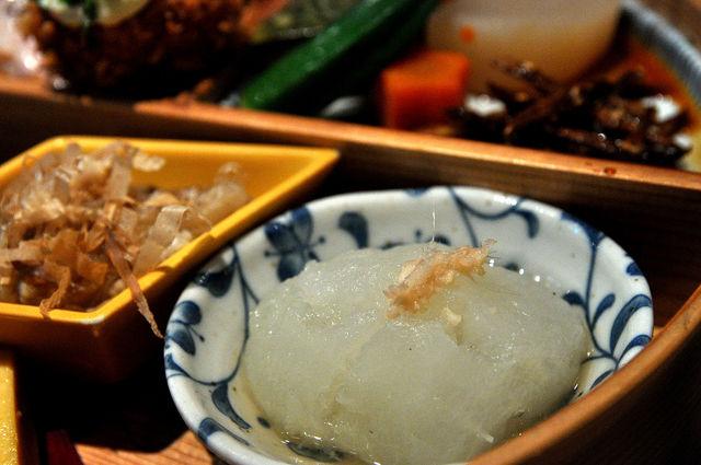 杏子豬排商業午餐-洋菇冬瓜