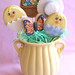 Easter Cookie Pops Bouquet by kellbakes for CraftyBaking.com