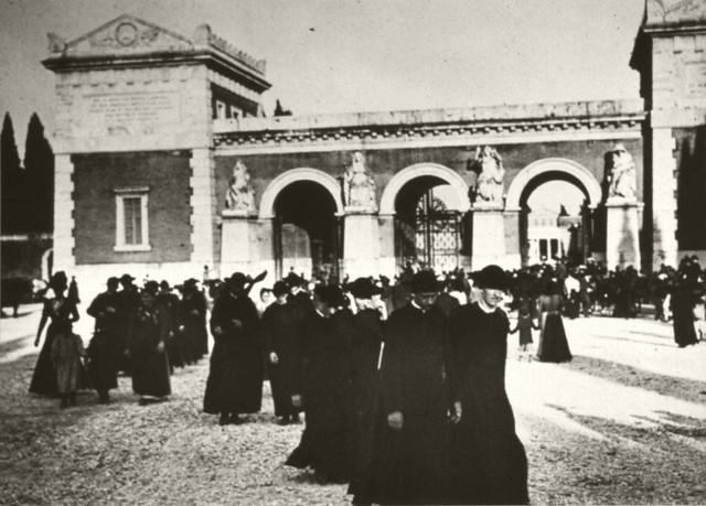 Elèves d'un collège Salésien en Italie.