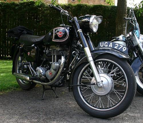 1957 Matchless G3LS 350