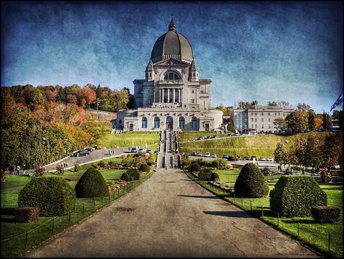 autumn canada texture church lumix catholic symbol quebec montreal religion hdr oratoirestjoseph dmcfz50 hdrquebec photoquebec