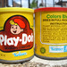 Old Kenner Play-Doh cans
