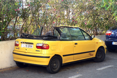 fiat punto s cabrio a photo on flickriver. Black Bedroom Furniture Sets. Home Design Ideas