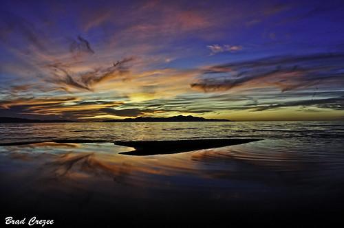 Salt Lake Sunset by crebra64