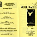 2005: KALW Radio – West Coast Live on the Jewish Music Festival [Broadcast on the Jewish Music Festival] (Broadcast Program) jmf-56_001.tif