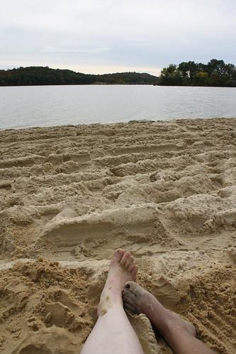 park lake fall beach sand state pennsylvania pa shawnee deserted schellsburg
