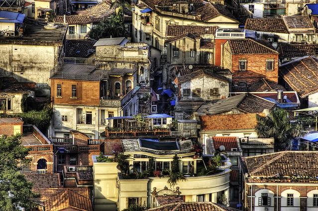 Gulangyu's Houses.