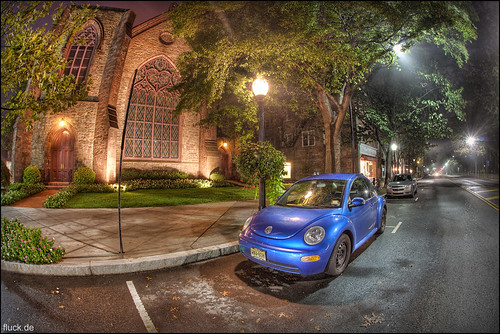 Beetle Church by Oliver Fluck