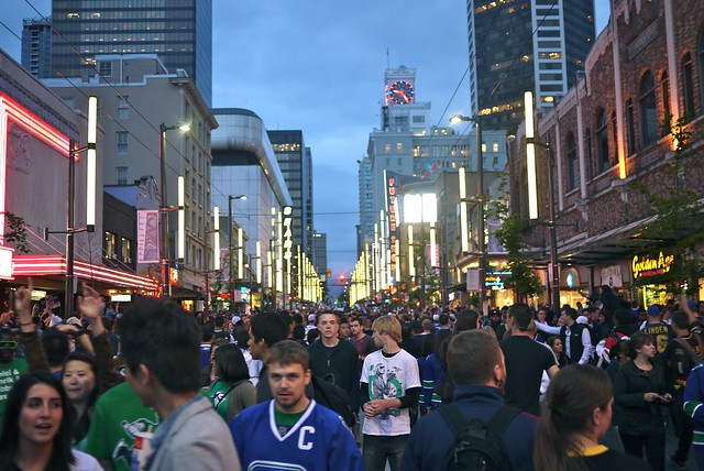 Canucks Stanley Cup Final | Granville Street
