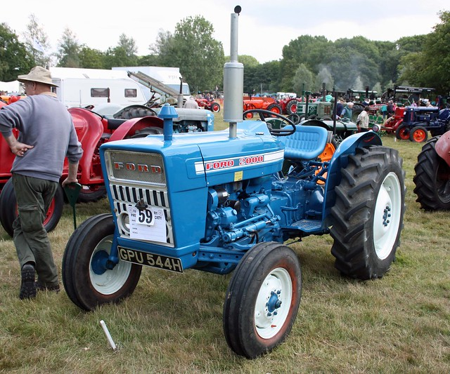 69 Ford 3000 Tractor : Ford tractor flickr photo sharing