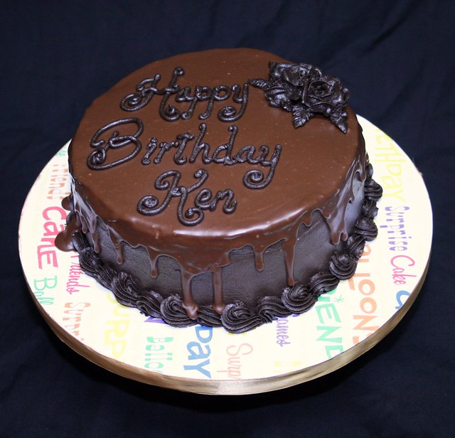 Chocolate Ganache Cake | Flickr - Photo Sharing!