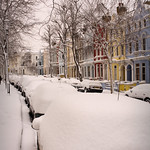 London Street, in the Snow