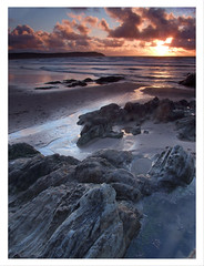 Last Light at Woolacombe Sands, North Devon